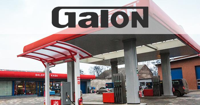 Stacja benzynowa Galon